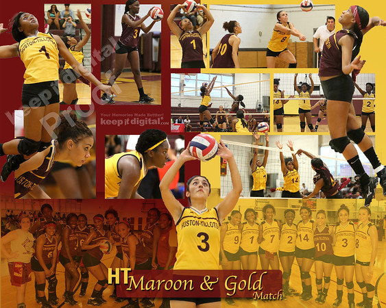 Maroon and Gold Vball 08_26_13