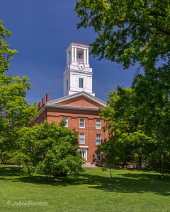 Erwin Hall (1845-50) - oldest academic building on campus