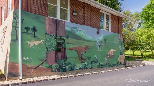 Mural (Butler Street, between 4th Street & Christy Mall)