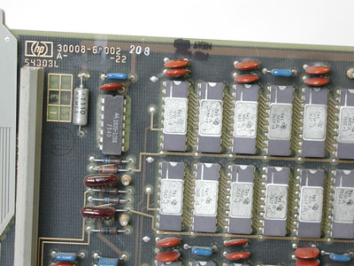 HP Circuit Card (Front and Rear Connectors)