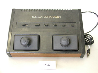 Bently Vision TV Game (Pong Type)
