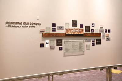 Parsons Construction Management Technology donor wall