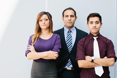 Bianca Morales, Daniel Martinez, Steven Sanchez