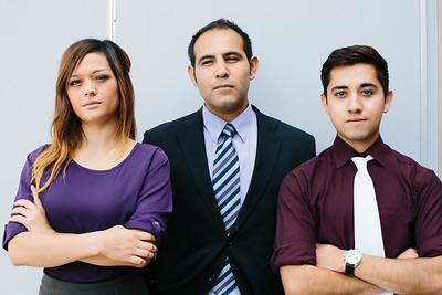 ianca Morales, Daniel Martinez,  Steven Sanchez