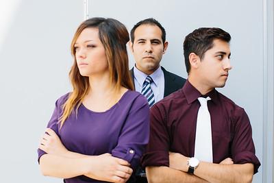 Bianca Morales, Daniel Martinez; Steven Sanchez