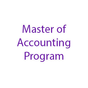 Master of Accounting Program