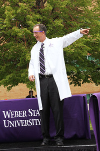 President Charles A. Wight: Tracy Hall Science ground breaking