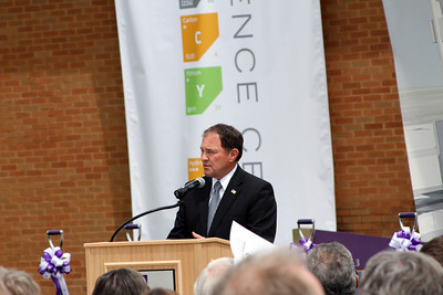 Utah Governor Gary Herbert: Tracy Hall Science ground breaking