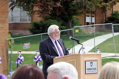 David Matty: Tracy Hall Science ground breaking