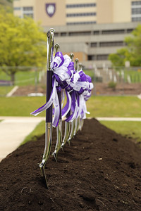 Tracy Hall Science Center groundbreaking