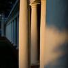 Columns at dusk