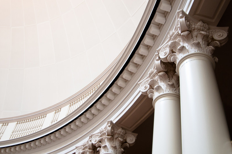 Detail of the Dome Room of the Rotunda