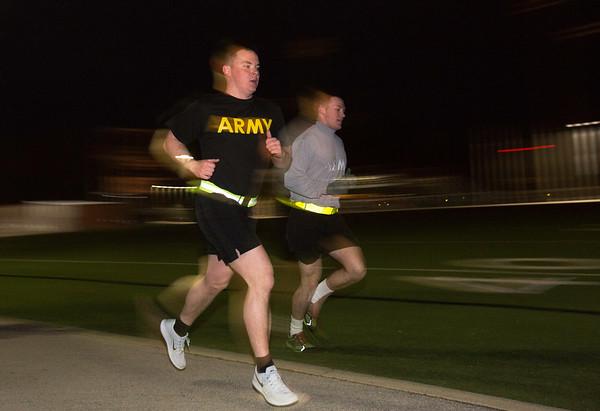 ROTC at 5 am