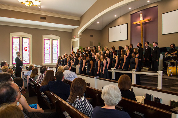 Choir at St. James United Methodist Church