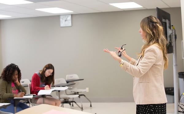 Rebecca Hamm, Accounting Classroom