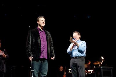Curtain Call Award Tad Wilson 2012