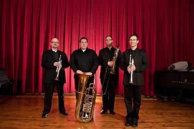Faculty Brass Quintet 2012