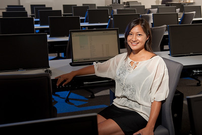 nformation Systems MGT major Student Lea