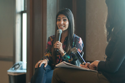 Payal Kadakia speaks at Moench Entrepreneurship Lecture Series