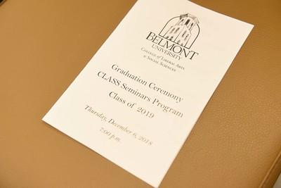CLASS Seminar graduation