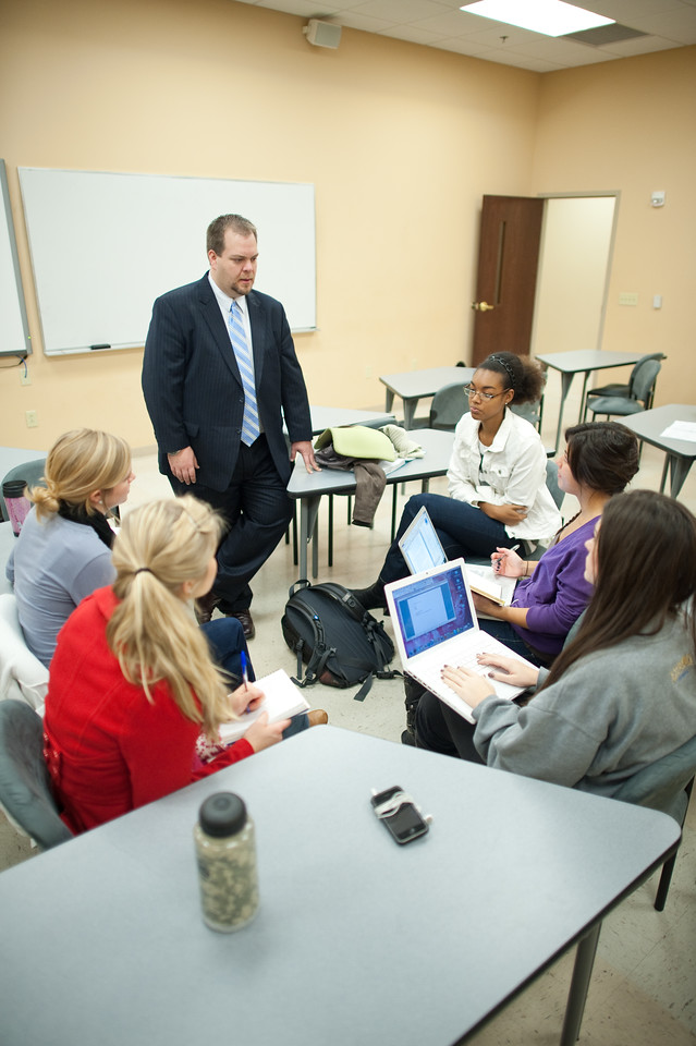 Business and Professional Communication Class with Jason Stahl