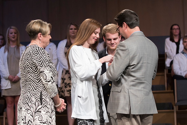 Anderson College of Nursing Pinning Ceremony 2016