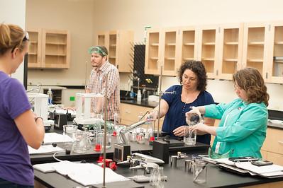Chemistry Class for Area Teachers Summer 2015