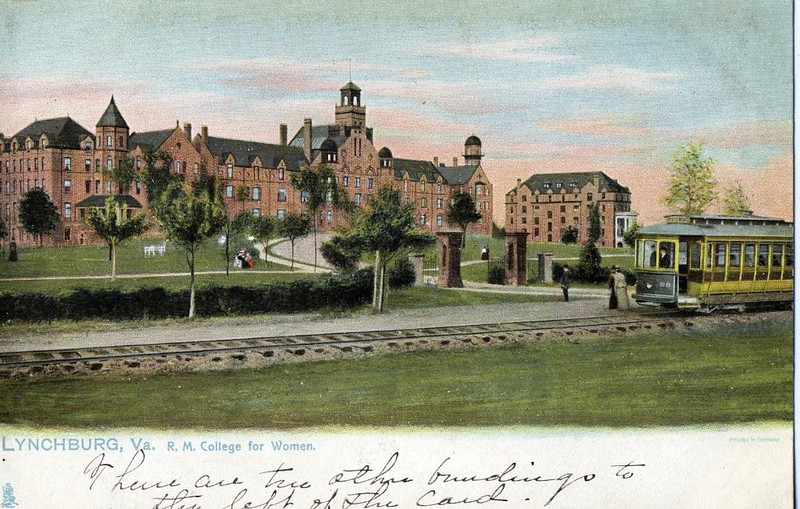 Postcard Randolph Macon Women's College (05066)