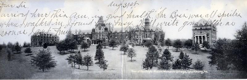 Randolph-Macon Woman's College Main Hall (03001)