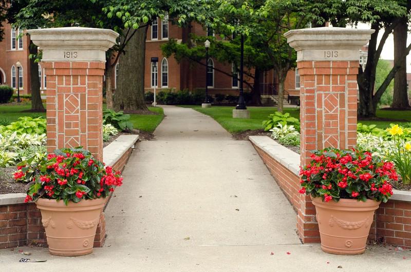 Path to Towers Hall