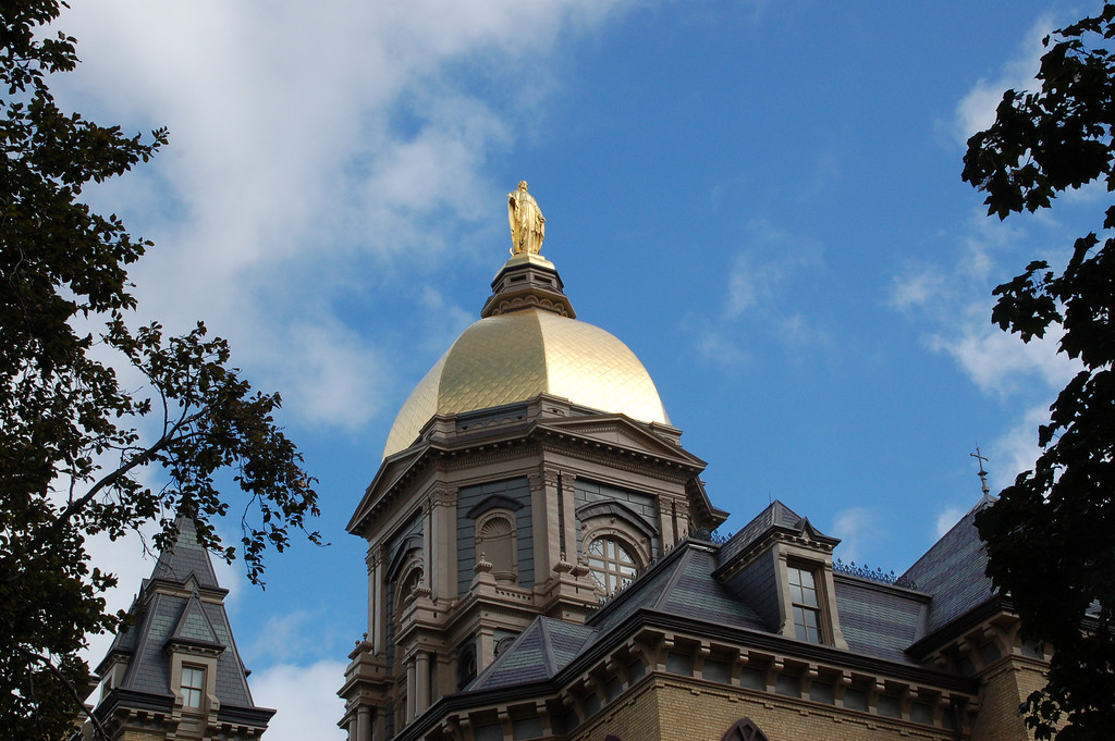 The Golden Dome of Notre Dame
