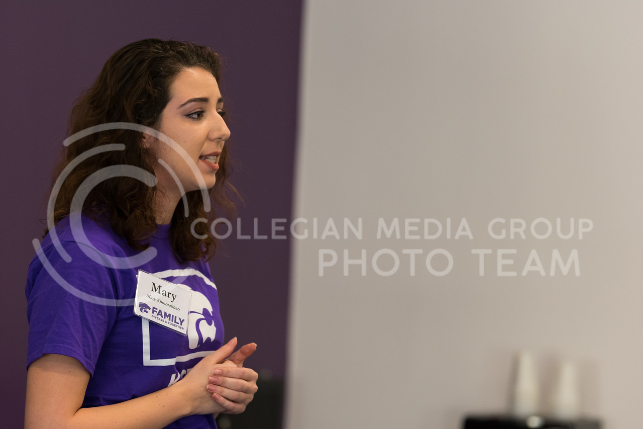 Mary Abounabhan discusses how the recent International Block Party was a huge success, with over 1,000 attendees. (Alex Todd | Collegian Media Group)