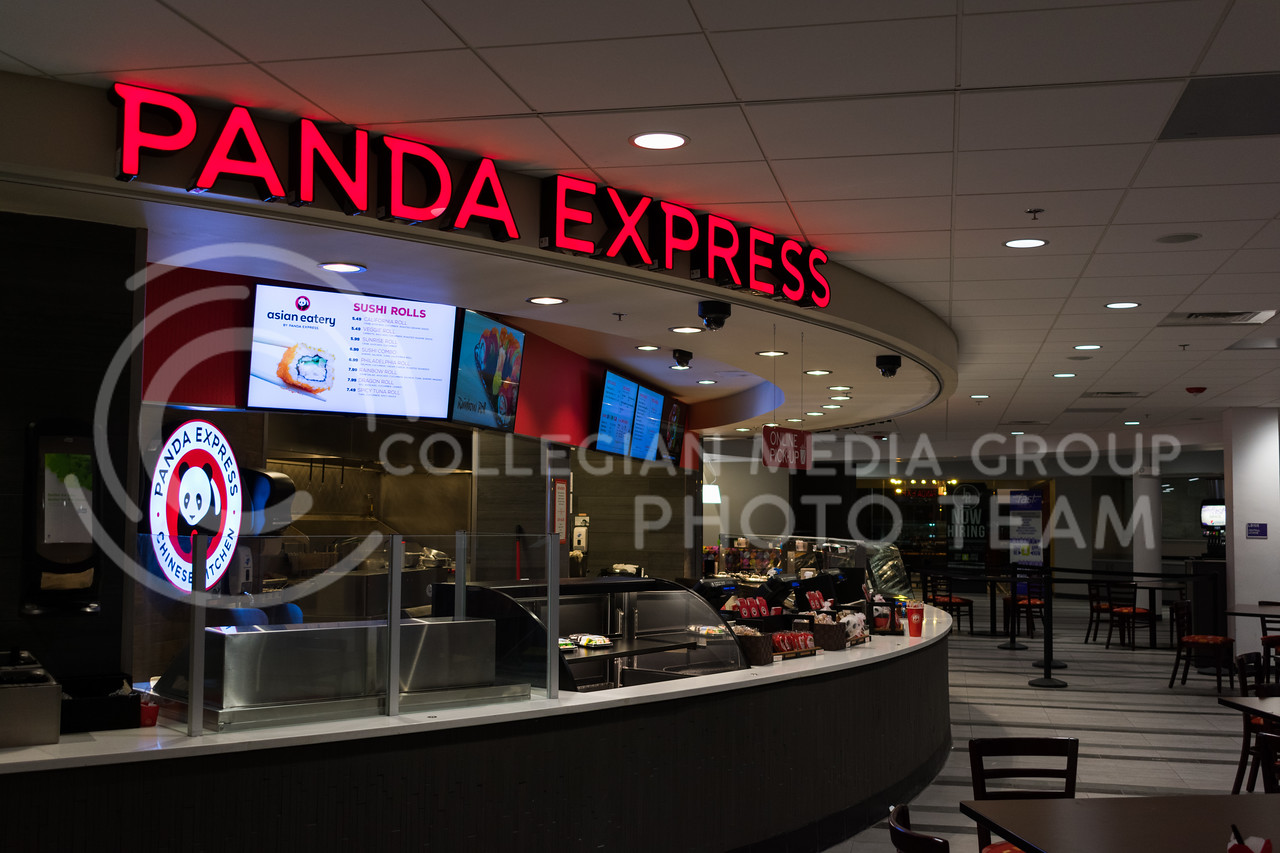 Panda Express in the Student Union on 01/24/18 (Alex Todd | Collegian Media Group)