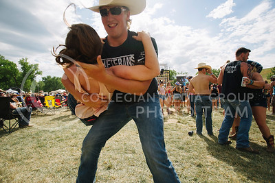 The 2017 Kicker Country Stampede at Tuttle Creek State Park on June 24, 2017. (Emily Starkey | The Collegian)