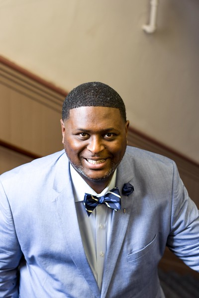 Kansas State University's new chief diversity and inclusion officer Bryan Samuel plays a crucial role in the restructuring of the office of diversity. He is working alongside President Myers and his cabinet toward greater diversity and inclusion at K-State. (Hannah Greer   Collegian Media Group)