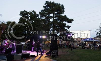 Madam Groove performs in Triangle Park during Aggiefest on Oct. 16, 2016. (Anna Spexarth | The Collegian)