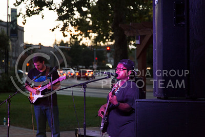 Ailyah Stephens of Madam Groove performs in Triangle Park during Aggiefest on Oct. 16, 2016. (Anna Spexarth   The Collegian)