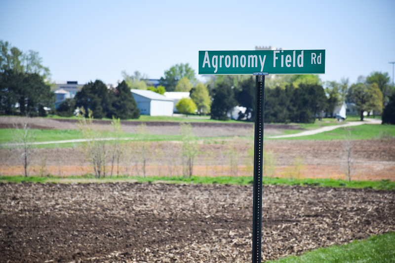 Many agronomy students use the agronomy fields north of Bill Snyder Family Stadium to learn more about their field.(Melanie White | Collegian Media Group)