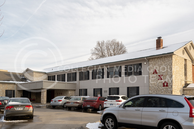 K-State sorority, Alpha Chi Omega. January 28, 2021. (Dylan Connell | Collegian Media Group)