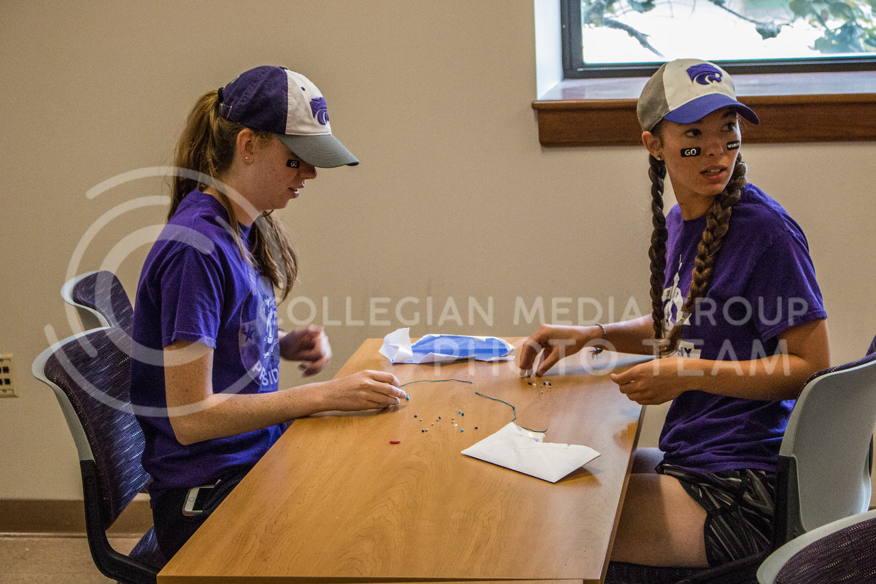 Manhattan locals come together to compete in an amazing race event throughout Manhattan, Kansas on Sept. 16, 2017 (Logan Wassall | Collegian Media Group)