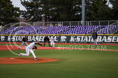 K-State plays against University of Nebraska-Omaha on Wednesday at Tointon Family Stadium (Logan Wassall | The Collegian)