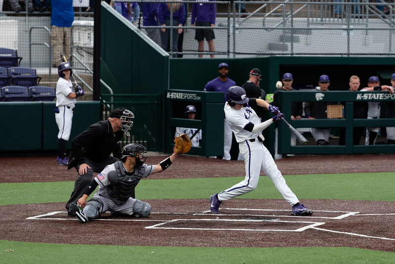 The K-State Wildcats faced off against the Wichita State Shockers winning the single game series 7-2. (Abigail Compton | Collegian Media Group)