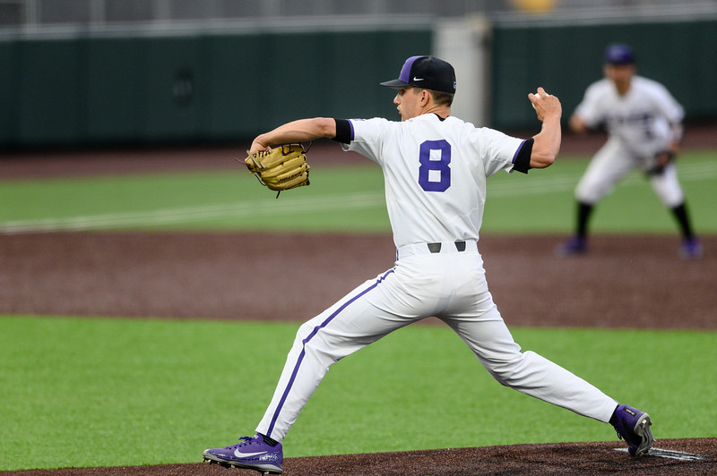 The K-State Wildcats faced off against the Wichita State Shockers winning the single game series 7-2. (Olivia Bergmeier | Collegian Media Group)