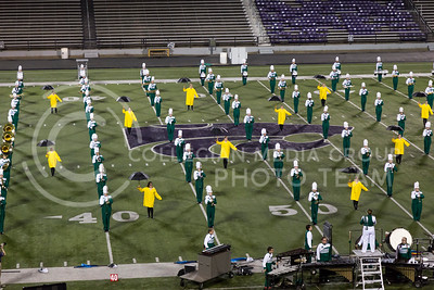 The Derby High School Marching Band perform their show during the Central States Marching Festival in Bill Snyder Family Stadium on Oct. 15, 2016. (Nathan Jones | The Collegian)