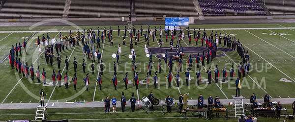 The Seaman High School Marching Band perform their show during the Central States Marching Festival in Bill Snyder Family Stadium on Oct. 15, 2016. (Nathan Jones | The Collegian)