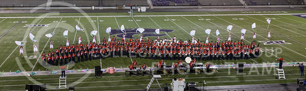 The Dodge City High School Marching Band perform their show during the Central States Marching Festival in Bill Snyder Family Stadium on Oct. 15, 2016. (Nathan Jones | The Collegian)