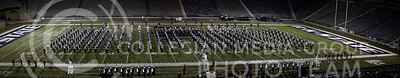 The K-State Marching Band performs their show during the Central States Marching Festival in Bill Snyder Family Stadium on Oct. 15, 2016. (Nathan Jones | The Collegian)