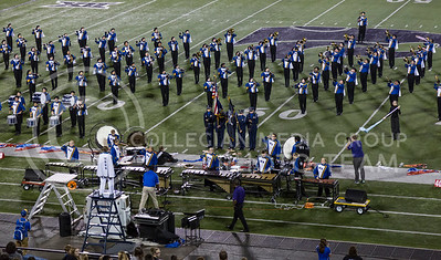 The Washburn Rural High School Marching Band perform their show during the Central States Marching Festival in Bill Snyder Family Stadium on Oct. 15, 2016. (Nathan Jones | The Collegian)