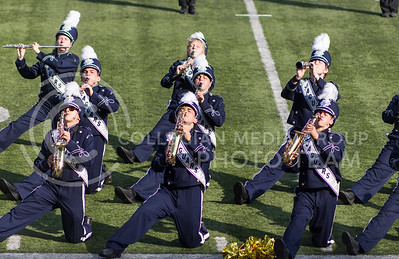 The Mill Valley High School Marching Band performs their show during the Central States Marching Festival in Bill Snyder Family Stadium on Oct. 15, 2016. (Nathan Jones | The Collegian)