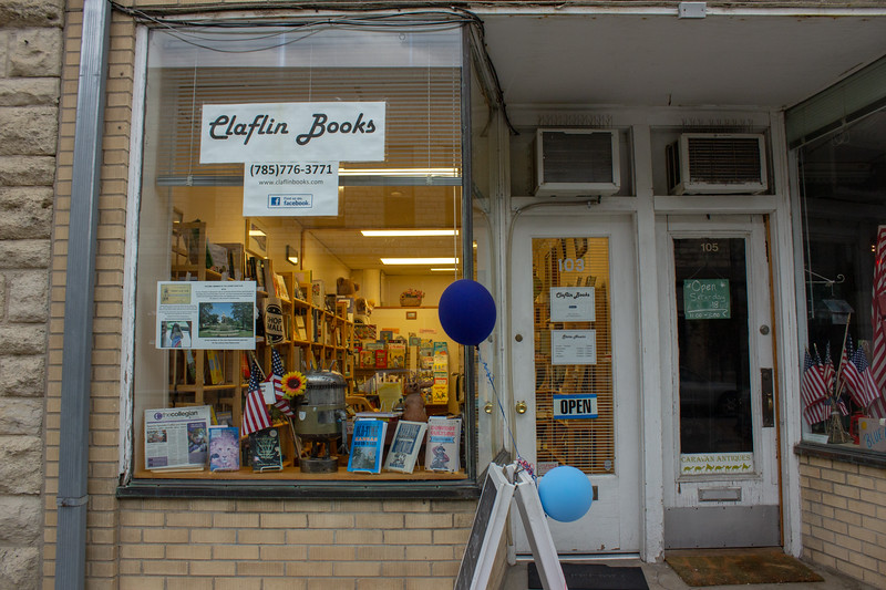 Claflin Books has been in this location for 4 years and continues to serve the Manhattan community, they are a member of the Arts and Humanities Association as well as being a member of Friends of Johnny Kaw. (Alex Shaw | Collegian Media Group)